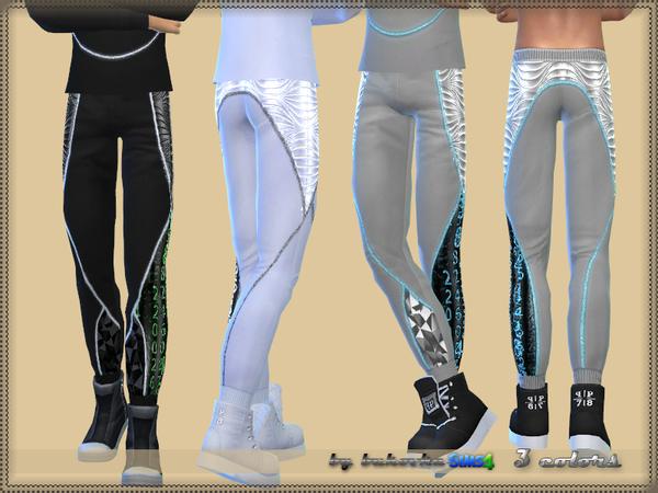 Sims 4 Pants Future 2 by bukovka at TSR