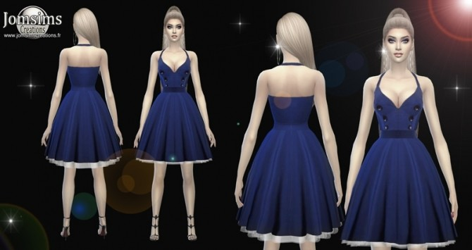 Dessi dress at Jomsims Creations image 658 670x355 Sims 4 Updates