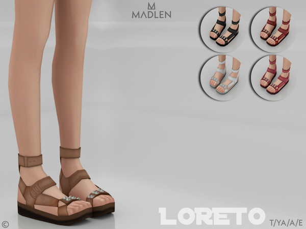 Madlen Loreto Shoes by MJ95 at TSR image 676 Sims 4 Updates