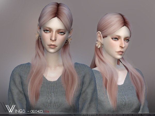 Hair OE0423 by wingssims at TSR image 6811 Sims 4 Updates