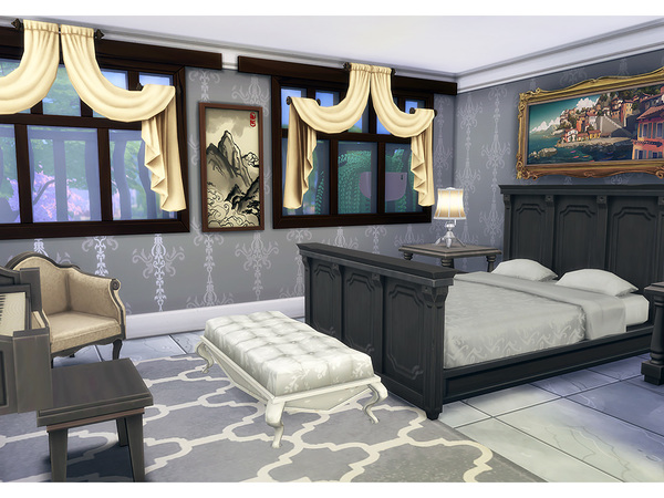 Sims 4 Milo family home by Degera at TSR