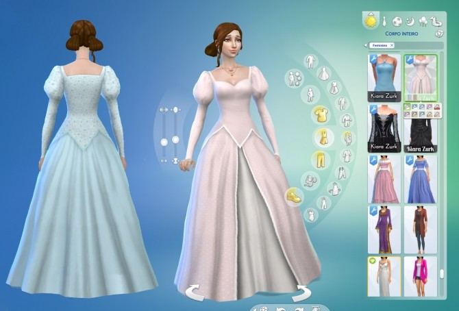 Ariel Wedding Dress At My Stuff 187 Sims 4 Updates