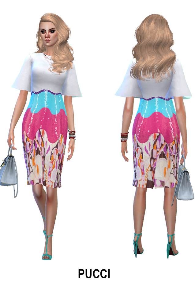 Week end dress collection (P) at Rhowc image 705 Sims 4 Updates