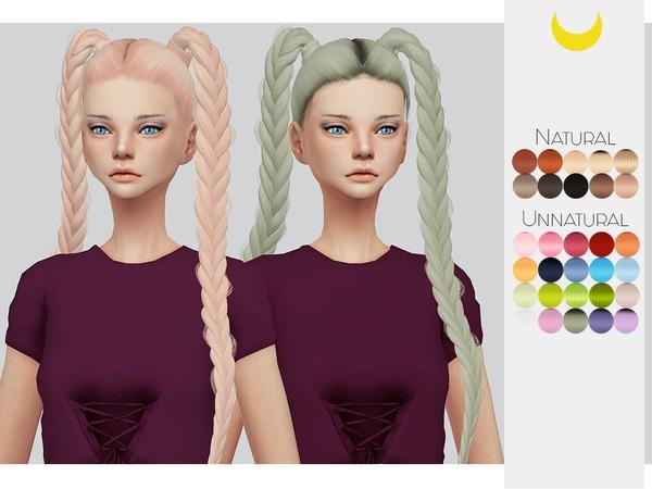 Hair Retexture 64 LeahLilliths Boom Shock at TSR image 7100 Sims 4 Updates