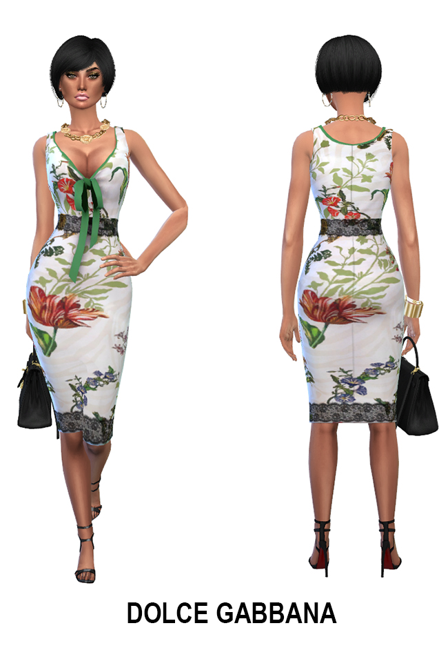 Week end dress collection (P) at Rhowc image 719 Sims 4 Updates