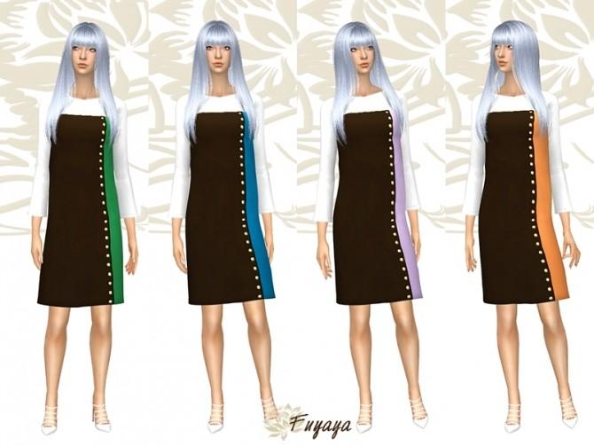 Coloreze dress by Fuyaya at Sims Artists image 7217 670x503 Sims 4 Updates