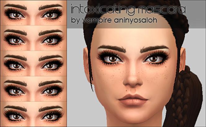 Intoxicating Mascara 5 styles by Vampire aninyosaloh at Mod The Sims image 7313 Sims 4 Updates