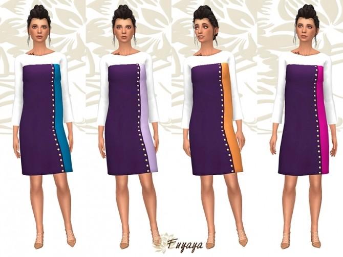 Coloreze dress by Fuyaya at Sims Artists image 7315 670x503 Sims 4 Updates
