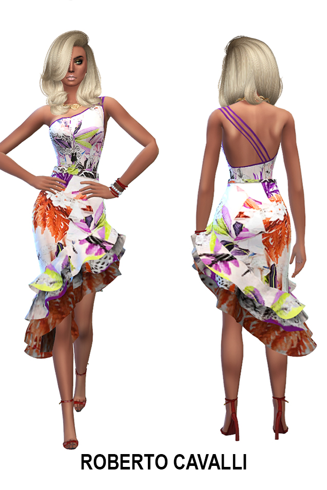 Week end dress collection (P) at Rhowc image 735 Sims 4 Updates