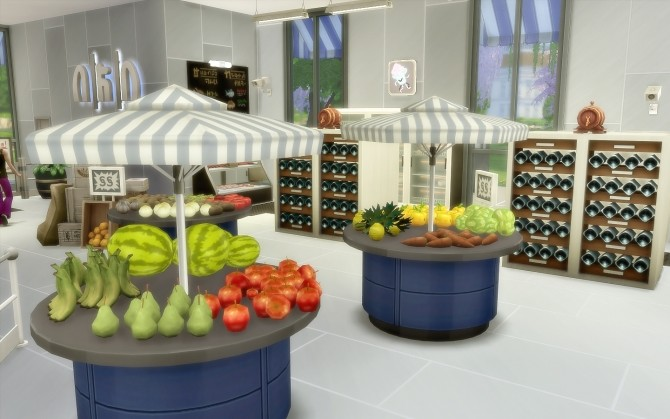 Supermarket at Via Sims image 738 670x419 Sims 4 Updates