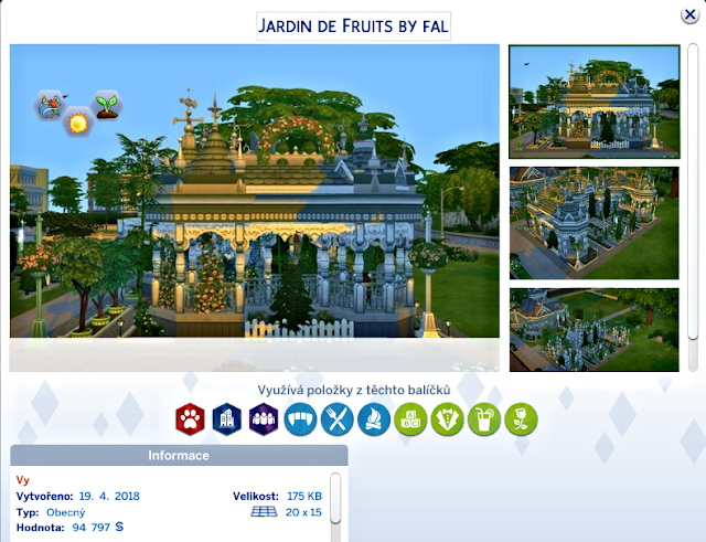 Jardin de Fruits (Garden For harvest) at Petka Falcora image 7410 Sims 4 Updates