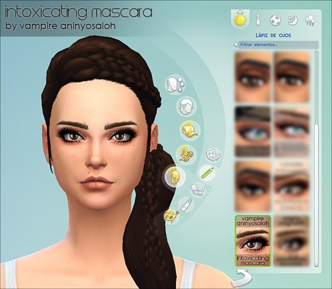 Intoxicating Mascara 5 styles by Vampire aninyosaloh at Mod The Sims image 7413 670x583 Sims 4 Updates