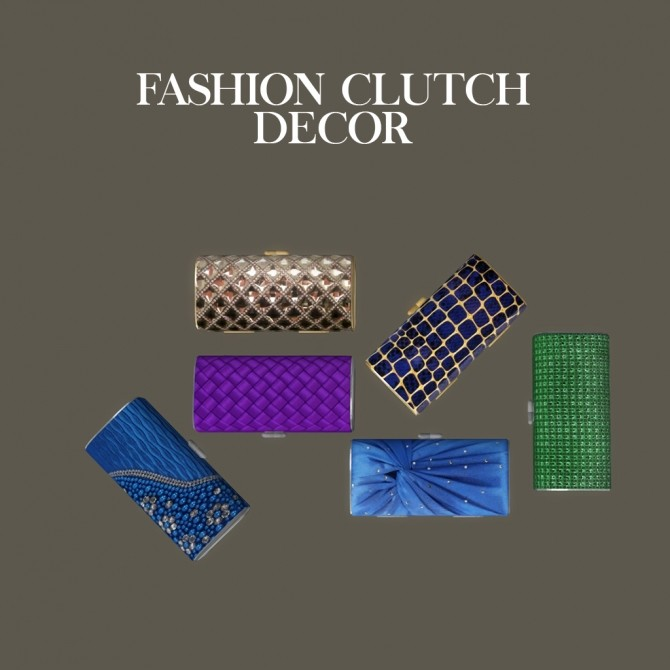 Fashion Clutch Decor at Leo Sims image 747 670x670 Sims 4 Updates
