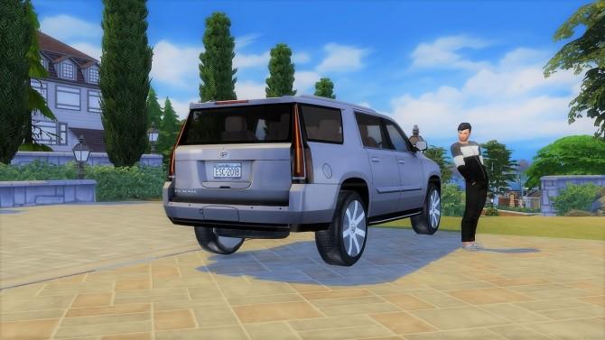 Cadillac Escalade at LorySims image 761 670x377 Sims 4 Updates