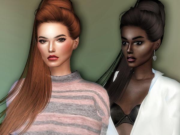 Jem hair retexture by Sharareh at TSR image 776 Sims 4 Updates