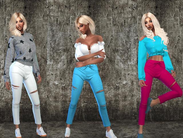 Capri Pencil Pants at Teenageeaglerunner image 777 Sims 4 Updates