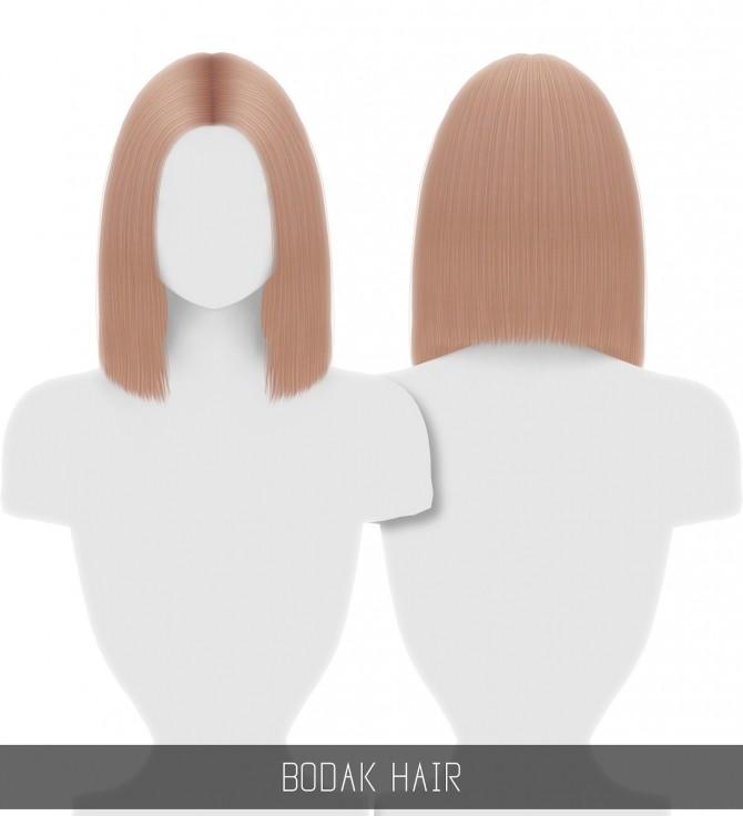 Sims 4 BODAK HAIR at Simpliciaty
