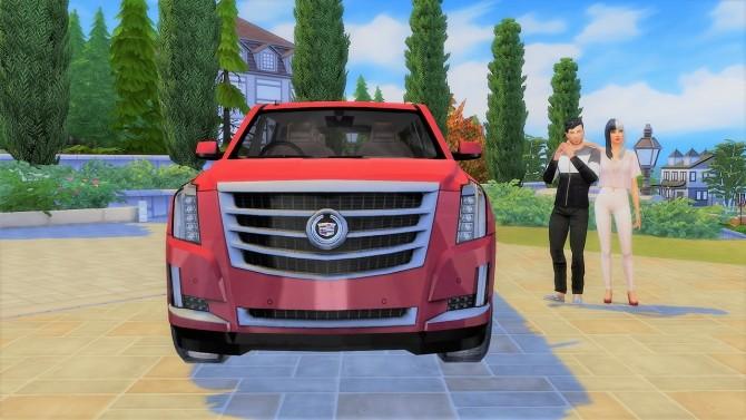 Sims 4 Cadillac Escalade at LorySims