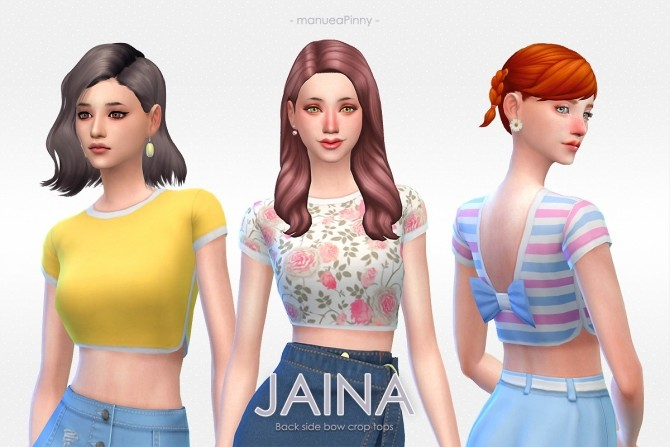 JAINA top at manuea Pinny image 8010 670x447 Sims 4 Updates