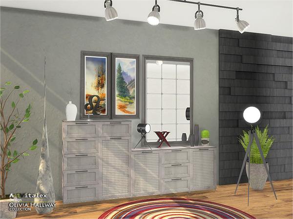 Sims 4 Olivia Hallway by ArtVitalex at TSR