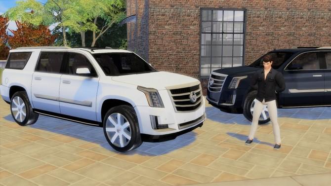 Cadillac Escalade at LorySims image 811 670x377 Sims 4 Updates