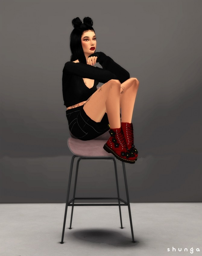 Pascal Flower Boots at Shunga image 8111 670x847 Sims 4 Updates