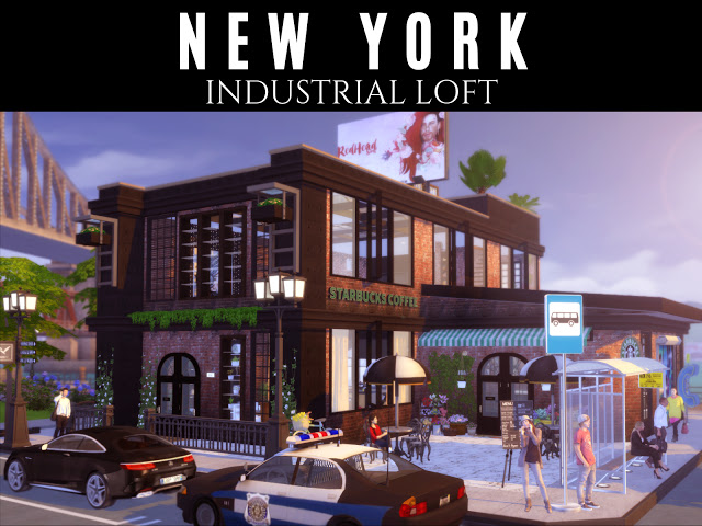 Sims 4 New York Loft at Lily Sims