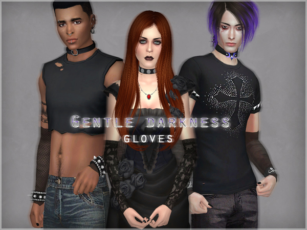 Gentle darkness gloves by WistfulCastle at TSR image 824 Sims 4 Updates