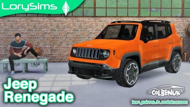 Jeep Renegade at LorySims image 841 670x377 Sims 4 Updates