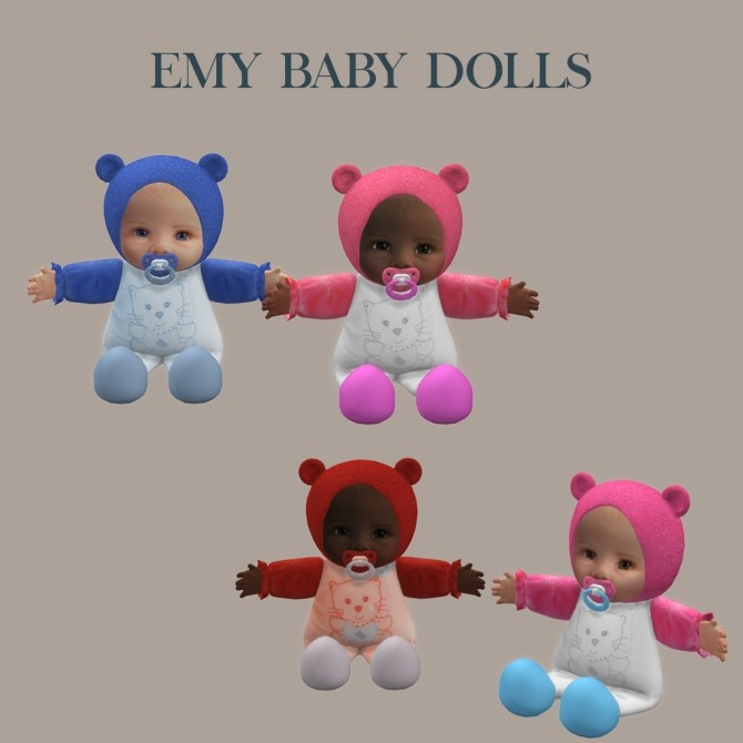 Baby Dolls at Leo Sims image 8410 670x670 Sims 4 Updates