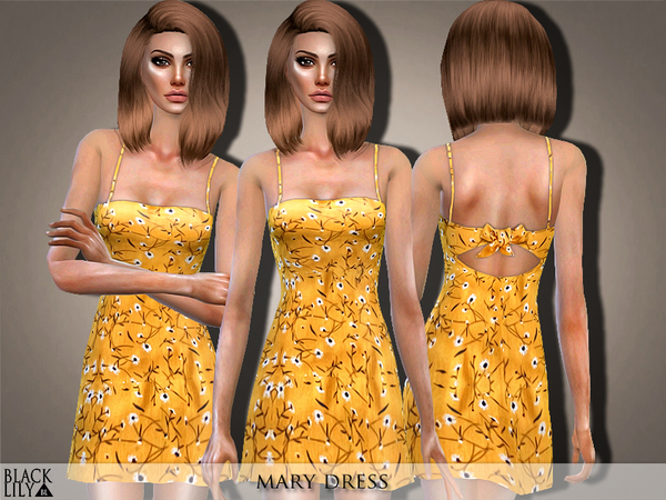 Mary Dress by Black Lily at TSR image 8414 Sims 4 Updates