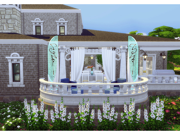 Sims 4 Ward home by Degera at TSR