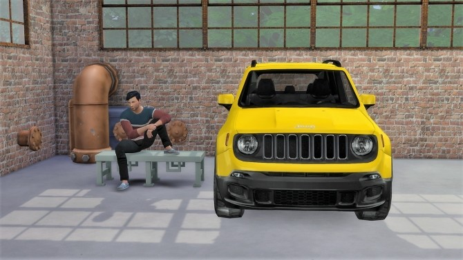 Jeep Renegade at LorySims image 851 670x377 Sims 4 Updates