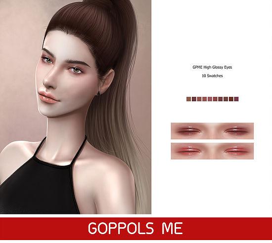 Sims 4 High Glossy Eyes at GOPPOLS Me