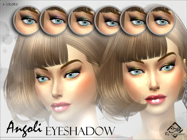 Angoli Eyeshadows by Devirose at TSR image 864 Sims 4 Updates