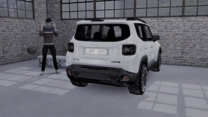 Jeep Renegade at LorySims image 871 670x377 Sims 4 Updates