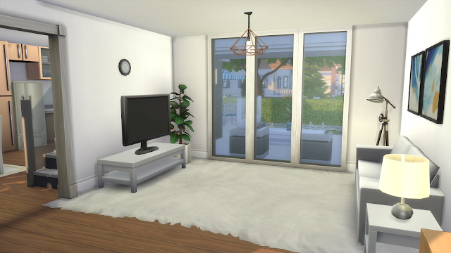 Sims 4 Modern House noCC at Dinha Gamer