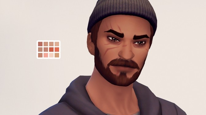 Sims 4 Retribution set of Blackwatch themed CC at Valhallan