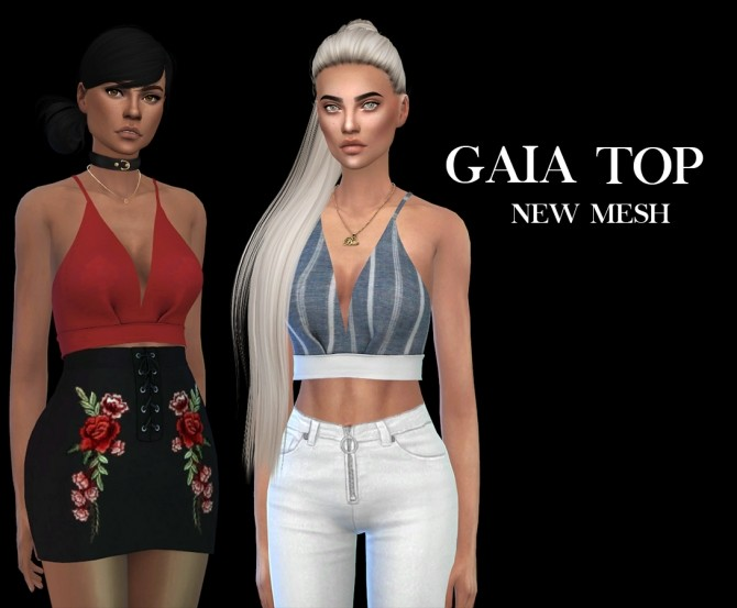 Gaia Top at Leo Sims image 8811 670x553 Sims 4 Updates