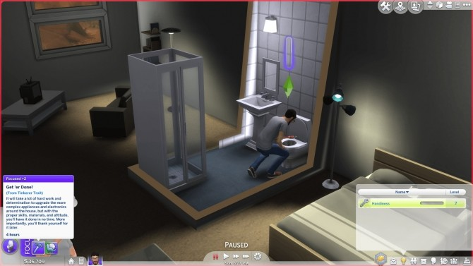 Sims 4 Tinkerer Trait by SimplyInspiredSims4 at Mod The Sims