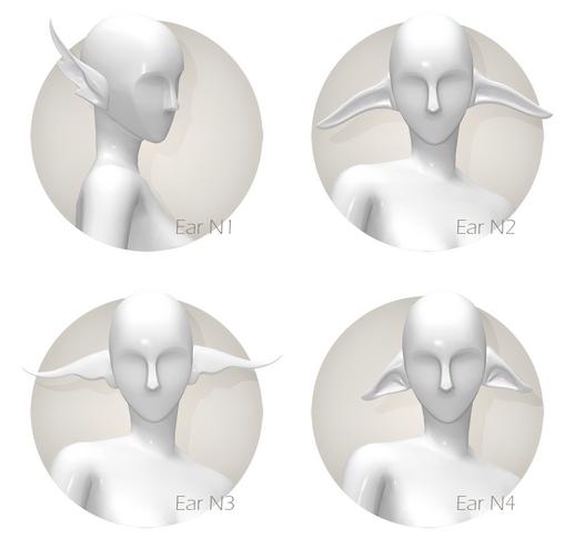 Fantasy ears set at Shay Sugar image 898 Sims 4 Updates