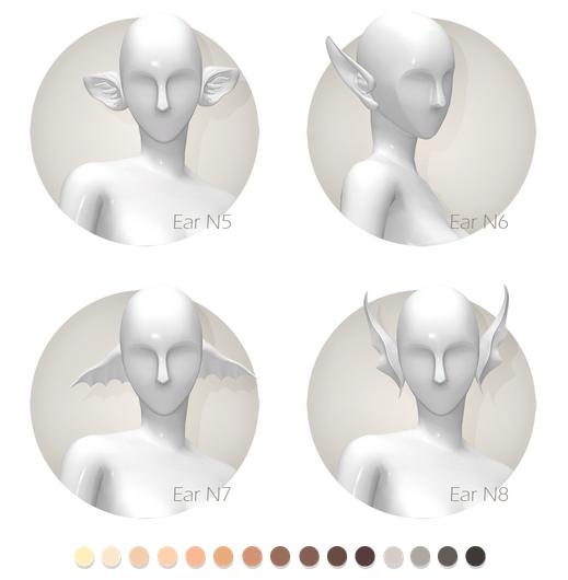 Fantasy ears set at Shay Sugar image 908 Sims 4 Updates