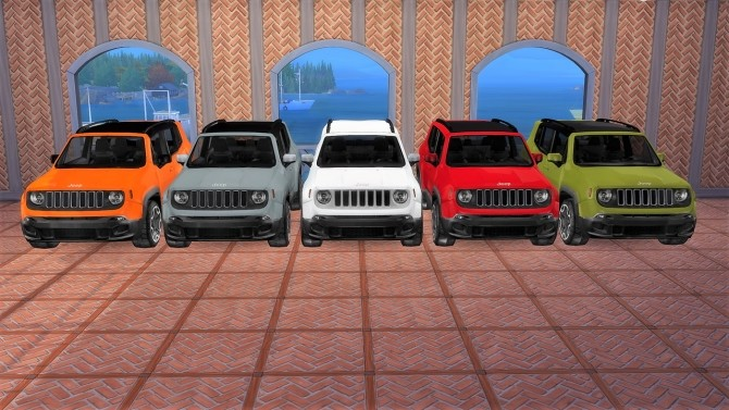 Jeep Renegade at LorySims image 911 670x377 Sims 4 Updates