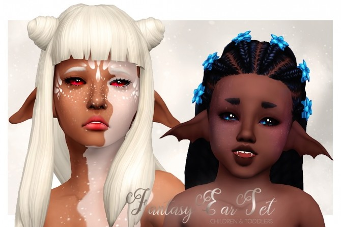 Fantasy ears set for kids and toddlers at Shay Sugar image 9111 670x446 Sims 4 Updates