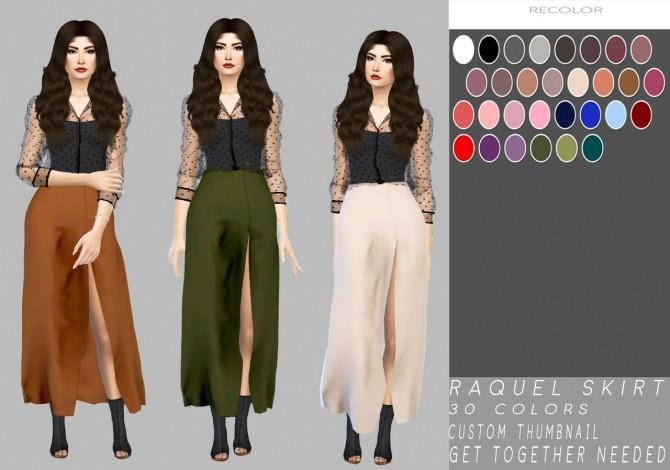 Sims 4 Raquel Skirt at Simply Simming