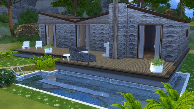 Modern Holiday Home at Dinha Gamer image 92 1 Sims 4 Updates