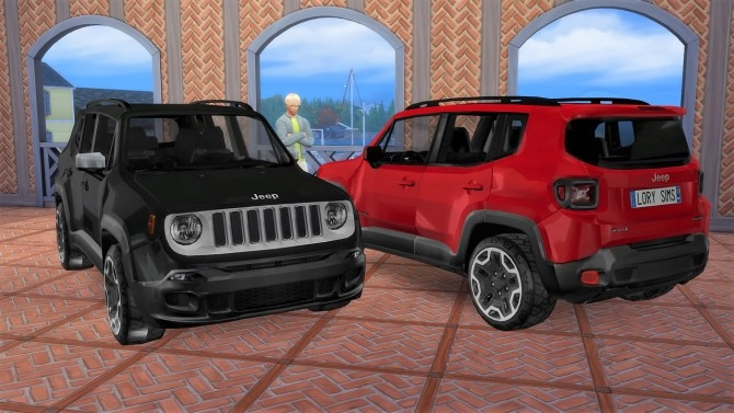 Jeep Renegade at LorySims image 921 670x377 Sims 4 Updates