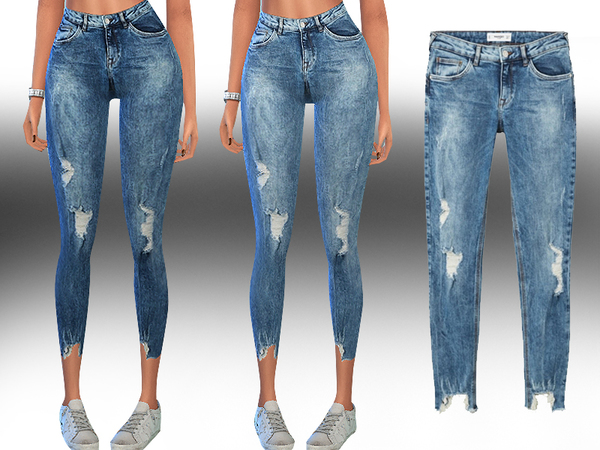 Kimi Skinny Fit Jeans by Saliwa at TSR image 9215 Sims 4 Updates