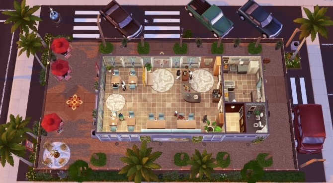 House of Mango at Jenba Sims image 927 670x369 Sims 4 Updates