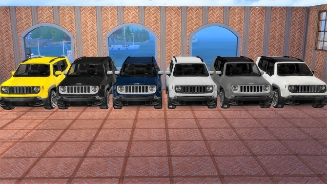 Jeep Renegade at LorySims image 931 670x377 Sims 4 Updates